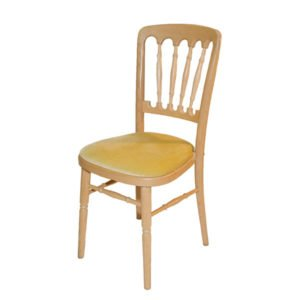 Natural Beech Chair for Hire